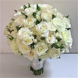 Lovely Fair Roses Bouquet