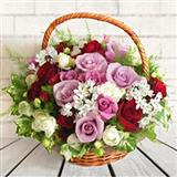 Graceful Rose Basket
