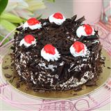 Delicious Black Forest Cake -1/2 Kg