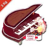 Piano Cake - 3 Kg.