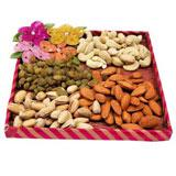 Dry-Fruits in a Tray