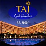 Taj Gift Voucher - Rs.2000/-