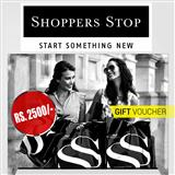 Shoppers Stop Gift Vouchers Rs.2500/-