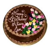 Happy Birthday Cake Chocolate- 2 Kg.