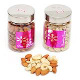 Jars with Dry Fruits