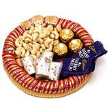 Send Palatable sweets, Dry Fruit & Chocolate Combo Chocolate Hampers to Bhavnagar