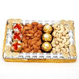 Tasty sweets, Chocolates & Dry Fruit Combo