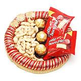 Send Palatable Chocolate & Dry Fruit Treat Chocolate Hampers to Bhavnagar