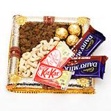 Crispy Dry Fruits & Chocolate Treat