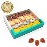 Sweets Treat - 1 kg with Diyas