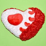 Send Love Cushions With Hearts Soft Cushions to Bhavnagar