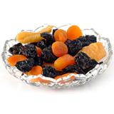 Dry Fruits in a Crystal Bowl