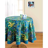 Floral Collage Table Cover