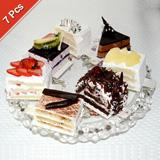 Send Assorted Taj Pastries - 7 pieces Taj Cakes to Bhavnagar