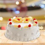 Delicious Pineapple Taj Cake - 1Kg.