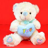 Send Adorable 'You' Teddy Love Hearts to Bhavnagar