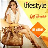 Lifestyle Gift Voucher Worth Rs 4000/-