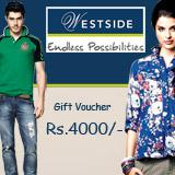 Westside Gift Voucher Worth Rs 4000/-