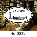 Landmark Gift Voucher Worth Rs 1000/-