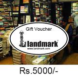 Landmark Gift Voucher Worth Rs 5000/-