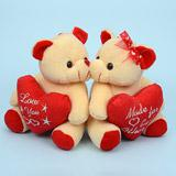Amiable Teddy Couple