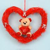Teddy in a Red Heart