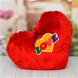 Scarlet Red Love Cushion