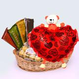 Lovely Chocolate Hampers with Teddies