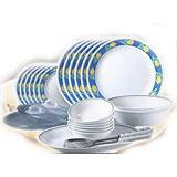 La Opala Dinner Set 35 pieces
