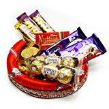 Hand made Chocolate Thali