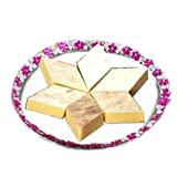 Kaju Barfi Thali - 1/2 Kg
