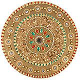 Intricate Rangoli Tray