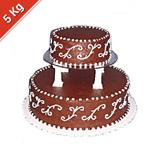 Special 2 Tier Chocolate Cake - 5 Kg.